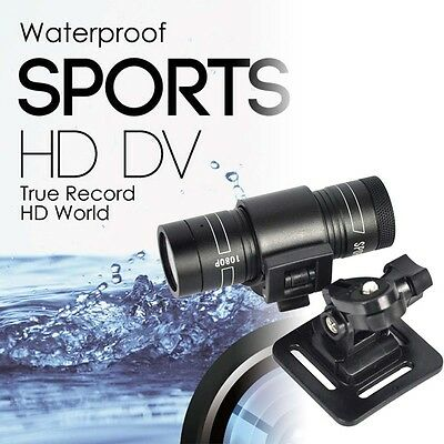 Full HD 1080P DV Mini Waterproof Sports Camera Bike Helmet Action DVR Video Cam
