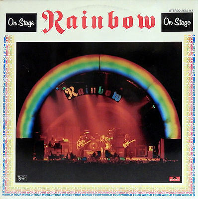 RAINBOW. On Stage. LIVE. Feat. R. Blackmore. Ger. Press. Do-Album. 2675142