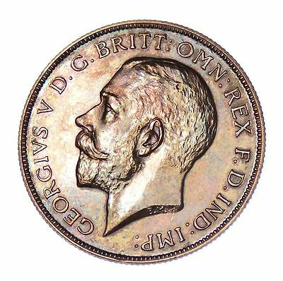 1911 Proof Florin Two Shilling George V  Mint State *598