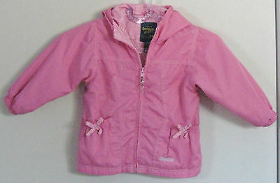 OSHKOSH B'GOSH Girls Size 24 Months Pink Fully-Lined Jacket