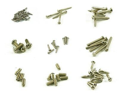 Vintage Slot Head Slotted Screws For 50's Fender Tele Telecaster  Made In USA