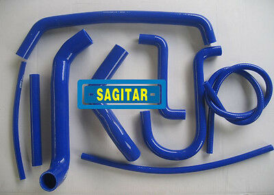 Blue silicone radiator hose for FORD FAIRMONT AU  4.0L 6 CYL 1998-2002
