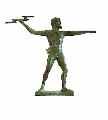 Ancient Greek Bronze Zeus2 Bronze Oxidization 1137