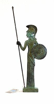 Ancient Greek Bronze Athena & Javelin Bronze Oxidization 1188