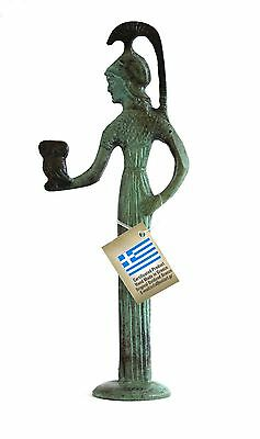 Ancient Greek Bronze Athena & Owl Bronze Oxidization 1159