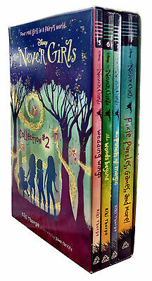 Disney Never Girls (Collection 2) 4 Books Box Set Wedding Wings, Pinch of Magic