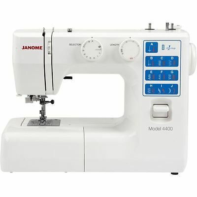 Janome 4400 Sewing Machine Free Arm Freehand Embroidery Auto Thread / Buttonhole
