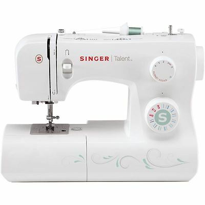 Singer Talent 3321 Sewing Machine 21 Stitch Patterns 4 Step Buttonhole Free Arm