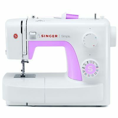 Singer Simple 3223 Sewing Machine Metal Chassis Button Hole Free Arm Foot Pedal