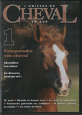 DVD L'Univers du Cheval 1 - EQUITATION GALOPS CAVALIER ROBES RACE