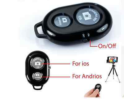 Bluetooth Remote Control Camera Selfie Shutter Stick for iphone Android Windows
