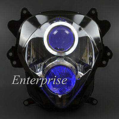 Projector Headlight Angel Demon Eyes for Suzuki K7 GSXR1000 GSX-R1000 2007 2008