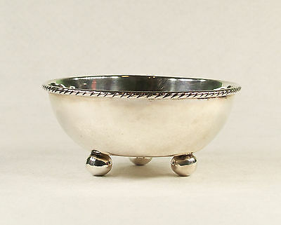 Mid Century Sterling Silver Ball Footed Bowl MRR Mexico