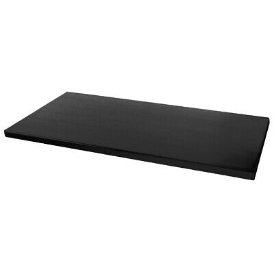 Cafe Table Top, Mix & Match, Werzalit, Rectangle, Black, 1100x700mm