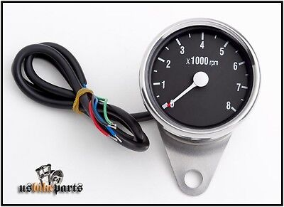 Tachometer for Harley Davidson 12V EVO Big Twin Sportster new custom