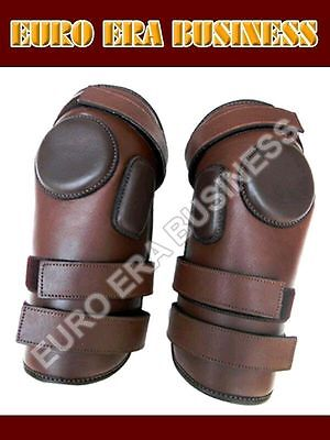 3 Strap Polo Riding Knee Guard And Padded