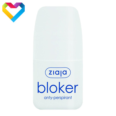 ZIAJA BLOKER ROLL ON ANTI-PERSPIRANT LONG LASTING FRESHNESS  60ml  01149