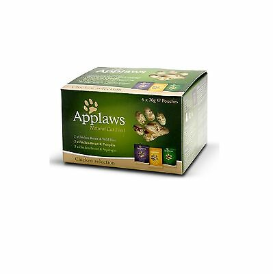 Applaws Natural Chicken Multipack Cat 6 x 70g - Posted Today if Paid Before 1pm