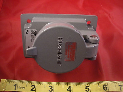 Thomas Betts SKR12G Receptacle 20a 250v/600vac Russellstoll 12-pin F no gasket