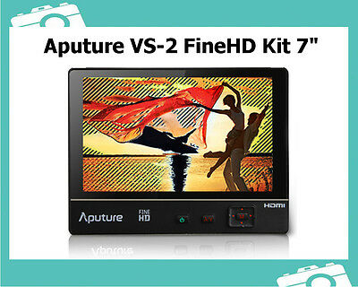 "Aputure VS-2 FineHD V-Screen 7"" Field Monitor Kit f. DSLR Kameras Videokamera"