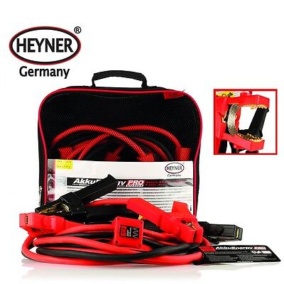 PREMIUM HEAVY DUTY BOOSTER CABLE JUMPING LEADS 25 qmm 3,5m 350A from HEYNER