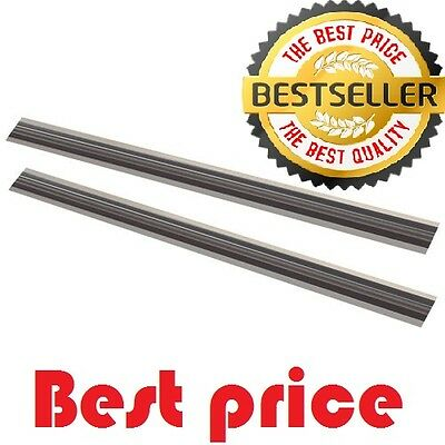 [BEST]  2 pieces 82mm REVERSIBLE PLANER BLADES/KNIVES FOR MAKITA-BOSCH-HITACHI