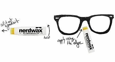 Nerdwax Anti Slip Glass Holding Wax Geek Essentials