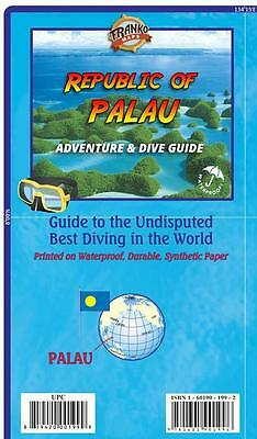 Palau Dive & Adventure Guide Waterproof Map by Franko Maps Republic of Palau