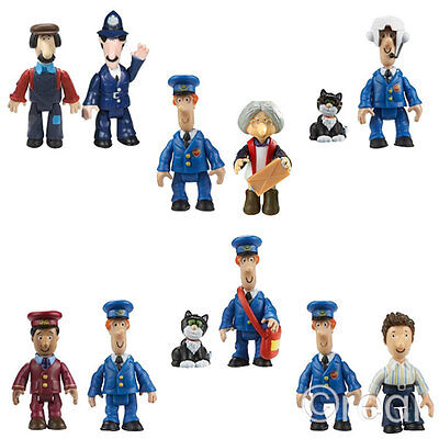 New Postman Pat Jess Mrs Goggins PC Selby Ted Glen Ajay 2 Figure Packs Official