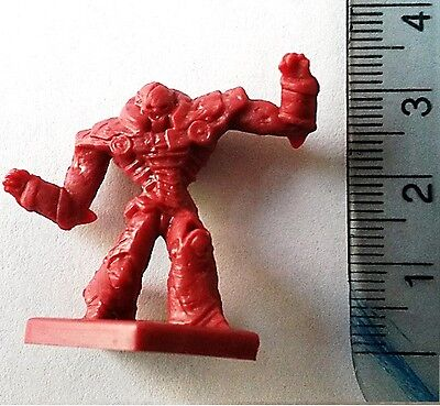 Dungeons and Dragons Plastic Red Iron Golems x 8 (15mm scale)
