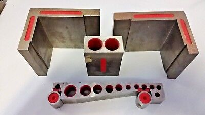 Machinist  Blocks Precision Special Set Of 4 Tool Maker toolmaker
