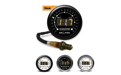 Innovate MTX-L Air/Fuel Ratio Wideband Gauge Kit AFR  w/O² Sensor LSU 4.9  #3844