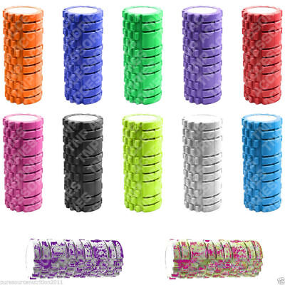 Foam Roller Yoga Pilates High Density 34cm x 14cm Trigger Point Physio Massage