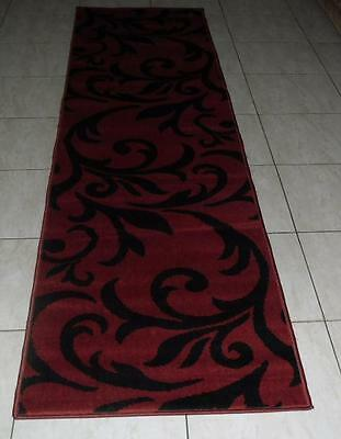 New Extra Long Modern Hallway Floor Runner Rug 80X500Cm