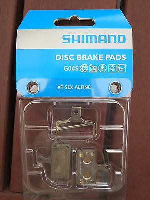Shimano Disc Brake Pads Metal Sintered G04S XTR XT SLX **New** G03S Replacement