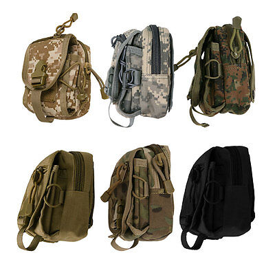 Outdoor Airsoft Military Tactical Molle Utility Fanny Pack Waist Belt Pouch Bag