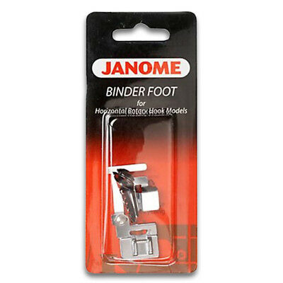 Janome Binder Foot - Perfect for Attaching Bias Binding to Fabric, Snap On, SALE