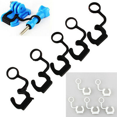 NEW BLK 5Pcs/set Soft Silicone Rubber Lock Plug For GoPro Hero 3/3 + Accessories