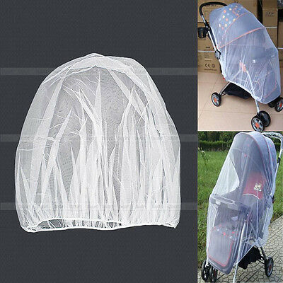 Mosquito Insect Net Netting For Baby Stroller Pushchair Buggy Safe Mesh LJ