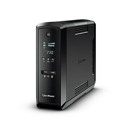CyberPower PFC Sinewave UPS 1500VA 900W Schuko Green Power LCD USB (UK) +