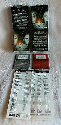 The X Files Collectible Card Game - 4 Boxes 100's of cards