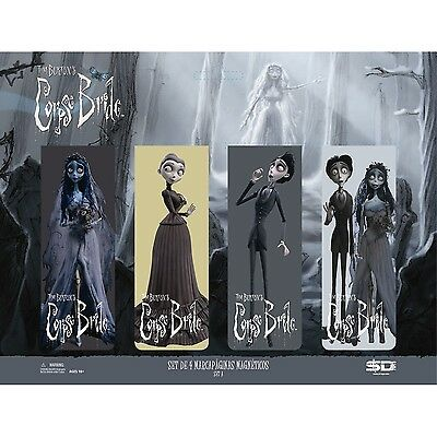 Corpse Bride Magnetic Bookmarks