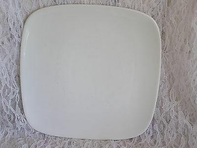 Wentworth Porcelain Pure White Square China Salad Dessert Plate Dish WNWI NICE I