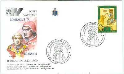 Vatican City Popes of the Jubilee Cover: Urban VI and Boniface IX, PV3