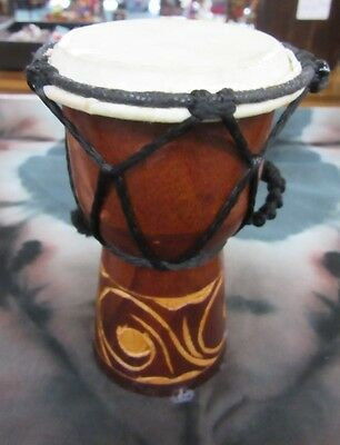 Sweet Baby 10 -12 Cm High Carved Bongo Drum Djembe Handmade