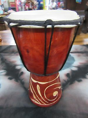 Quality Hand Made Drum 20 Cm High Carved Bongo Drum Djembe