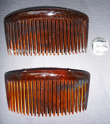 "2 BIG 5"" Vintage Hair Combs.. Very Strong and Effective..."