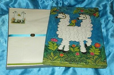 "VINTAGE HALLMARK STATIONERY SET! ""DOCTOR DOLITTLE'S FRIENDS"" RARE NEW!!!"
