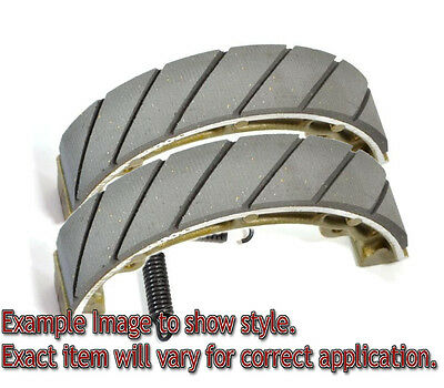 EBC Grooved Organic Brake Shoes - 841G for 79-85 Cagiva WMX250 Applications