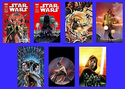 Star Wars #1 C 2 C 3 4 5 6 7 Cassaday Set Lot 2015 New Marvel Movie Boba Fett